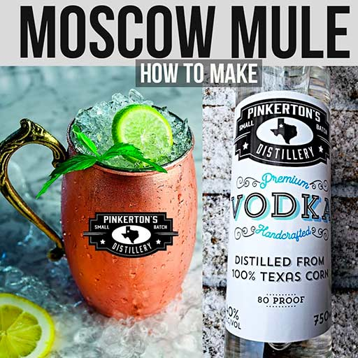 Moscow Mule Cocktail Pinkertons Distillery