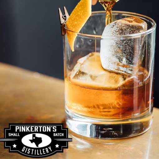 Old Fashioned Cocktail Pinkertons Distillery